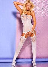 Sexy fishnet lingerie corset design bodystocking bodysuit crotchless nightwear