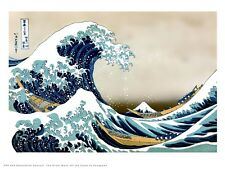 Hokusai Japanese Poster Art Print Great Wave of Kanagawa (PDP 059)