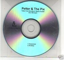 (F995) Pettr & The Pix, Nevermind / So Easy - DJ CD