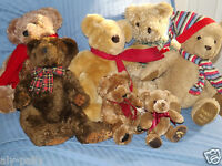 HOUSE OF FRASER RUSS TEDDY BEARS ANNUAL FOOT DATED CHRISTMAS FREE UK POSTAGE