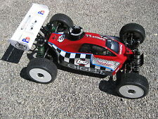 Losi 8ight 2.0 & 3.0 Nitro Buggy Race Body Clear 1/8