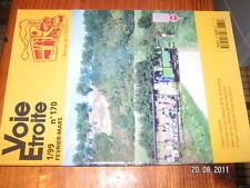 Voie Etroite  n°170 Provence Normandie Cuba ....