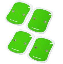 ^rx 4 Elettrodi cerotti adesivi clip elettrostimolatore tens wireless newage wi