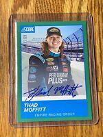 2020 Thad Moffitt Panini Chronicles Score Racing On Card Auto  #137/199 🔥🔥
