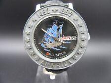 """M591⭐⭐Vintage """" Poljot Columbus America 1492-1992 """" Automatic Armbanduhr  ⭐⭐"""