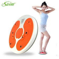 Body Healthy Massage Care Abdominal Waist Exercise Fitness Trimmer Twister Foot