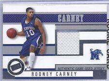 2006 Press Pass Basketball Rodney Carney Memphis University Jersey Card