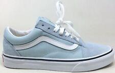 Vans Adult Unisex Old Skool Classic Skate Shoes Blue White Mens 4.5 / Womens 6