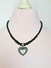 Perlen Herzen - Halskette Schmuck HERZ HERZ 85 gr Anhänger Charms