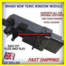 2 x NEW TEMIC RENAULT MEGANE SCENIC WINDOW REGULATOR MOTOR MODULE- UK SELLER
