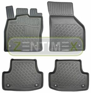 Tappetini in gomma / TPE 3D Premium per Audi A3 Sportback S-Line 8V Hatchback 47