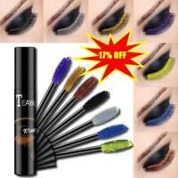 4D Silk Fiber Lash Mascara Colorful Curling Eyelash Extension Waterproof Thick