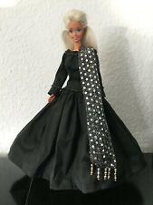 Barbie Puppe Vintage Sammler #183 handgenähte Seidenkleider