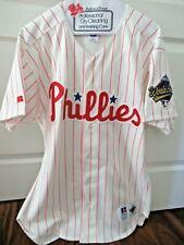 Philadelphia Phillies 1993 World Series Sewn Baseball Jersey - Size 44