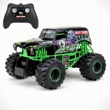 GRAVE DIGGER RC 1/43 SCALE MONSTER JAM TRUCK FULL FUNCTION REMOTE CONTROL NEW