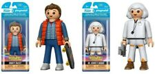 Funko Playmobil 6 inch action figure Marty McFly Emmett Brown Back to the Future