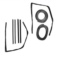 1982-94 Rubber Door Weatherstrip Seal Kit Set for Chevy S10 Blazer GMC S15 Jimmy
