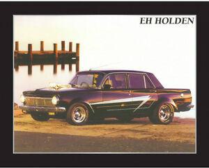 New EH Holden Memorabilia Framed