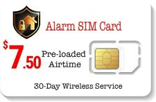 $7.50 Alarm SIM Card for GSM Home Security Alarm System + GPS Tracker