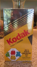 New In Box Kodak VHS Pack Of 3 Tapes High Quality Sealed T-120