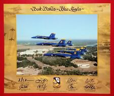 BLUE ANGELS U.S. NAVY 16 X 20 POSTER PRINT 2011 100th ANNIVERSARY NAVAL AVIATION