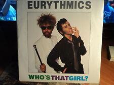 "Eurythmics ""Who's That Girl?"" Great Oz PS 7"""
