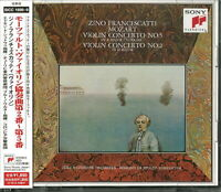 ZINO FRANCESCATTI-MOZART: VIOLIN CONCERTOS NO. 2-NO. 5-JAPAN 2 CD D73