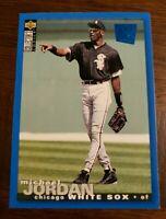 Michael Jordan 1994 Upper Deck Collector's Choice Blue SP Baseball Rookie RC#238
