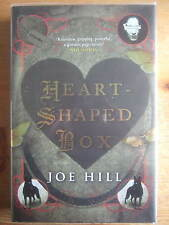 Heart-Shaped Box - Joe Hill. Hardback 1st/1st Signed, Lined and Dated