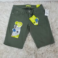 YMI Wanna Betta But Women's Bermudas shorts color olive green