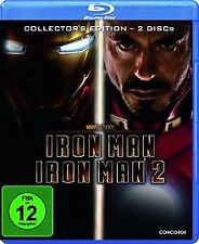Iron Man 1+2 [Blu-ray] [Collector's Edition] de Favreau... | DVD | état très bon