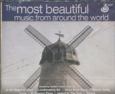 THE MOST BEAUTIFUL MUSIC FROM AROUND THE WORLD - VARIOUS ARTISTS  on 3 CD's