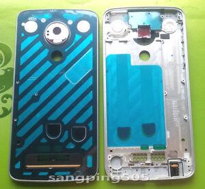 E For Motorola Moto Z Play XT1635 Housing Case Middle Frame Bezel Cover