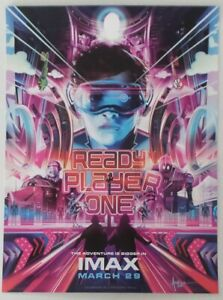 WonderCon 2019 Handout READY PLAYER ONE movie promo poster