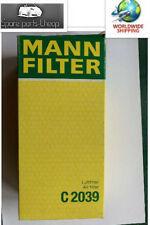 Mann Filter Air Filter C2039 VW GOLF I, GOLF II, JETTA I, JETTA II,CADDY I 02.74