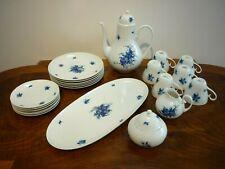 "Rosenthal Studio - Linie  Romanze -  ""blaue Blume"" Kaffeeservice - 22tlg."