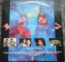 """Various Artists - The Greatest Hits Of 1987 12"""" LP 1987 Depeche Mode etc"""