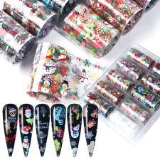 Weihnachten Nagelfolien Weihnachten Winter Nail Arts Transferfolie Sticker