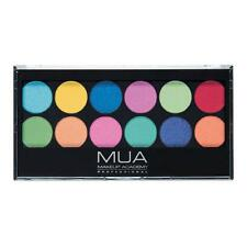 MUA MAKEUP SILENT DISCO PROFESSIONAL EYESHADOW PALETTE Brights RAINBOW Bold NEON