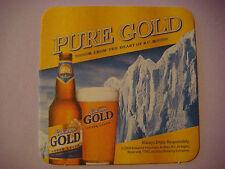 2009 Beer Bar COASTER ~<>~ Labatt Columbia KOKANEE Gold Lager ~ British Columbia