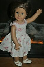 American Girl Doll Truly Me Short Brown Hair Blue Eyes Freckles Loose Limbs