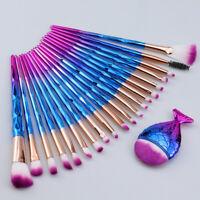 21pcs Makeup Brushes Kit Set Powder Foundation Eyeshadow Eyeliner Lip Fan Brush