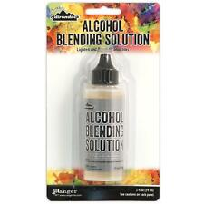 Ranger Tim Holtz Alcohol Blending Solution 2 oz Clear Ink Thinning Cleaning