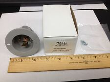 Arrow Hart 7556C Receptacle Flanged Locking Inlet 10A 250V 15A 125V Gray