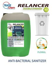 Wheelie Bin Cleaner 25L Relancer Anti-Bacterial DOUBLE STRENGTH FLORAL