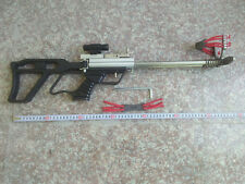 Hunting Catapult Rifle Driving force by Rubber Band Tube stainless steel trigger