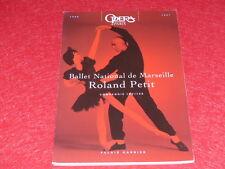 COLL.J.LE BOURHIS DANSE BALLET/ PROGRAMME OPERA PARIS ROLAND PETIT GUEPARD 1997