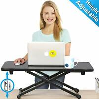 "Height Adjustable Standing Desk Converter for Dual Computer Monitor 16"" Riser"