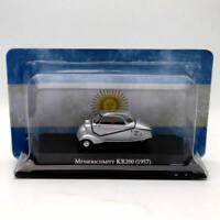 IXO Altaya 1:43 Messerschmitt KR200 1957 Silver Diecast Models Limited Edition