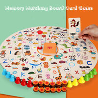 Kids Memory Matching Jigsaw Puzzle Christmas Game Child Family Party Parent Gift